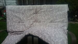 Hand Made Padded Seat Cover for deck swing