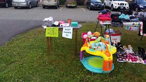 Yard sale most things $1