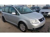 2005 Volkswagen Touran 2.0 FSI petrol 7seater SE full service year mot
