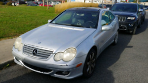 C230 kompressor coupe 2005
