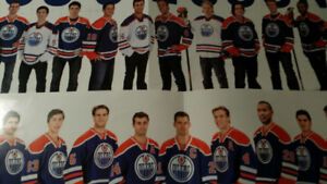 Edmonton Oilers Banner/Picture and Oiler Programs