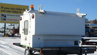 PRE-OWNED 8'  SLIDE-IN SERVICE TRUCK BODIES/WORK CANOPIES