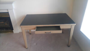 For Sale  Old Style Metal Desk