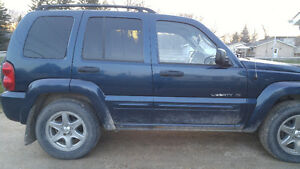 2003 Jeep Liberty Limited edition Other
