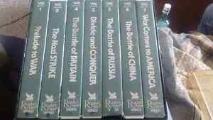 Readers Digest WWll includes 7 vhs tapes for sale $4