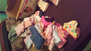 Baby clothing. NB.0 to3 3 to 6 and 6 month's