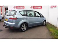 2006 06 FORD S-MAX 1.8 TDCi ZETEC 6 SPEED G,BOX,GREAT COLOUR.FULL SH.LOW MILEAGE