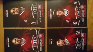 Cartes de hockey des canadiens