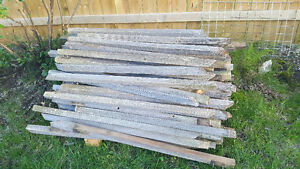 Re-Claimed Gray Cedar 2 x 2 Approx 3 1/2 Feet Long $.50 ea. or $
