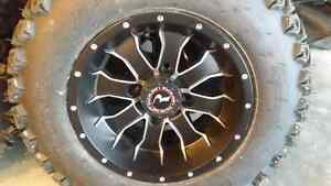 ATV rims and tires - Mini truck rims and tires **REDUCED**