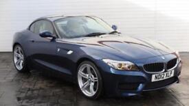 2012 BMW Z Series 2012 12 BMW Z4 2.0 SDRIVE 20i MSPORT New Model Petrol blue Man