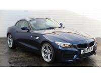 2012 BMW Z Series 2012 12 BMW Z4 2.0 SDRIVE 20i MSPORT New Model Petrol blue Man