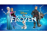 2 Rink-side tickets to see Disney On Ice Frozen at Sheffield Arena - 17/12/16
