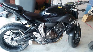 2016 Yamaha FZ-07 (MT07) Black