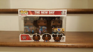 Funko POP! WWE: The New Day w/ Booty O's 3 Pack (FYE Exclusive)