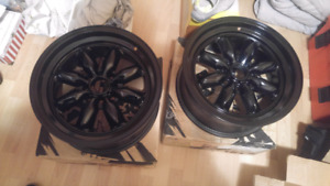 *BRAND NEW**NEVER USED* XXR 513 rims 16x7, full black