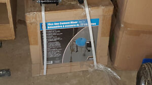 Cement mixer in box.  Never used $250.