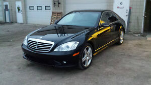 2008 Mercedes-Benz S-Class LOW KM, AMG PACKAGE Sedan