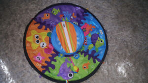 Tummy time playset