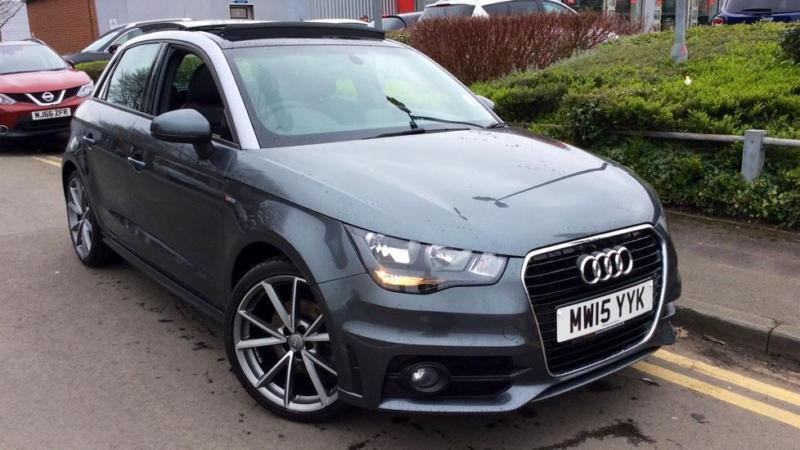 2015 audi a1 1 6 tdi s line 5dr manual diesel hatchback in chelmsford essex gumtree. Black Bedroom Furniture Sets. Home Design Ideas