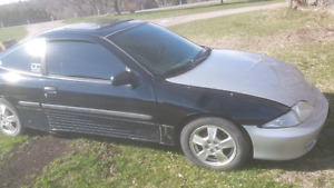 2000 cavalier 2 dr for parts. As is