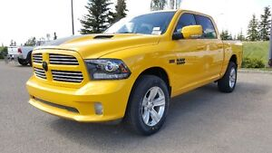 2016 RAM 1500 SPORT IN STINGEY YELLOW CHECK IT OUT !! 16R13163