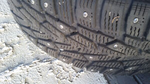 Price drop 4 of the best studded winter tires out there Moose Jaw Regina Area image 5
