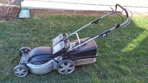 Battery operated, Lawn Mower, Trimmer/Edger/Blower, Wagon, Hose Kitchener / Waterloo Kitchener Area image 1