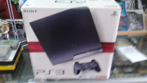 Play station 3 complete in box