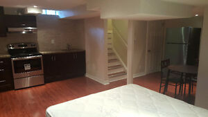 Furnished Basement Studio Apartment for Rent