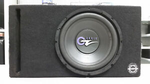 "12"" OZ Audio Car Sub in Ported Bassworx Box"