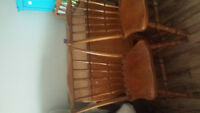Solid Oak dining table!!! need gone asap