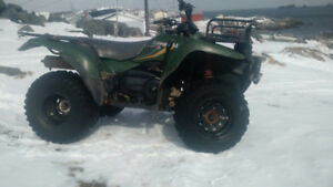 Kvf 400 4x4 trade for racing quad or a dirt bike