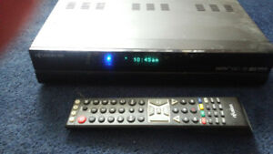 Nfusion Hd receiver and remote like new 40  or best offer