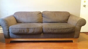 2 beautiful couches moving sale Windsor Region Ontario image 1