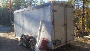 trailer fermé 6X12