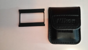 Used Nikon 35mm Film Camera Panorama Mask Adapter & Case