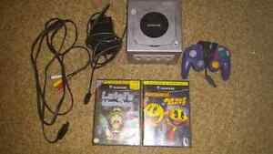 Gamecube with games
