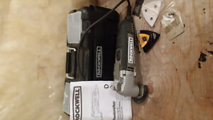 Rockwell Soniccrafter Oscillating Tool