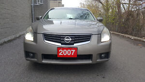 2007 Nissan Maxima SE Sedan with Safety Certificate and E-test