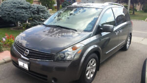 2008 Nissan Quest S Minivan/Power Sliding doors/Entertainment
