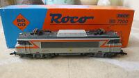 Locomotive Train Électrique Roco BB 7200 / BB7200 HO avec boite