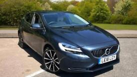 2018 Volvo V40 D2 Inscription With Winter Pac Manual Diesel Hatchback