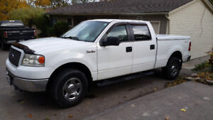 2006 F150 XLT 5.4L 4x4 crew cab 6.5ft box