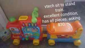 Vtech Train & Car, Lego Table & ball pit. St. John's Newfoundland image 1