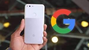 Brand New Google Pixel Silver (Warranty+Receipt) Wiley Park Canterbury Area Preview