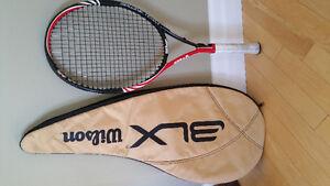 Two Wilson Six.One.Team BLX 95, L2  4 1/4 grip Tennis Rackets