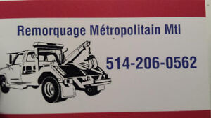 Remorquage-Towing 7jrs 24hres (514) 206-0562