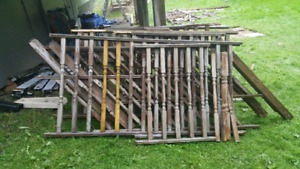 Deck Rails, Posts and Spindles
