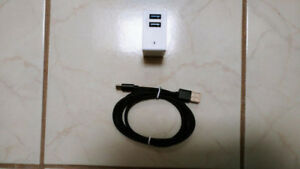 USB-C and Charger [Fast Charging at 2.4A level]